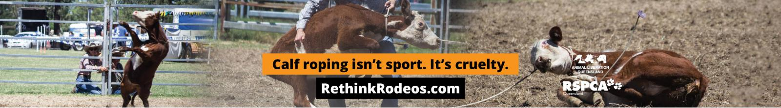 Calf roping billboard 2
